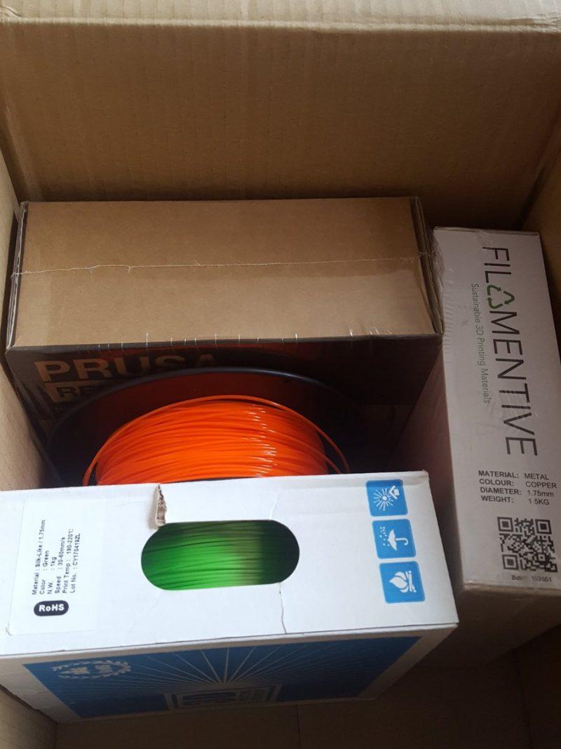 Happy little filament bundle. Thanks to @SpannerHands3D 😀 https://t.co/UifMRnZPZi