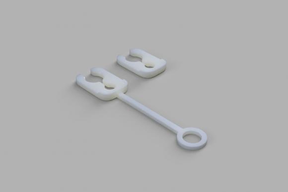 Simple Bowden Clip
