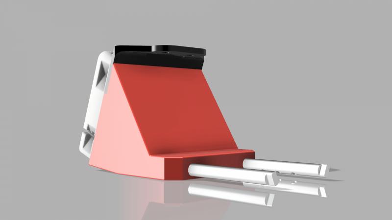 Duet3d Smart Effector Tusk Part Fan Shroud