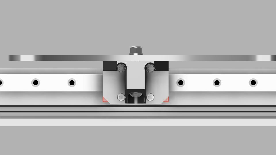 Y Axis MGN12 Rail Mod T