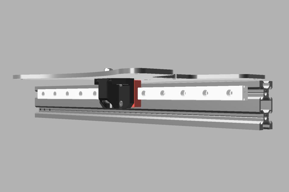 Y Axis MGN Rail Mod v
