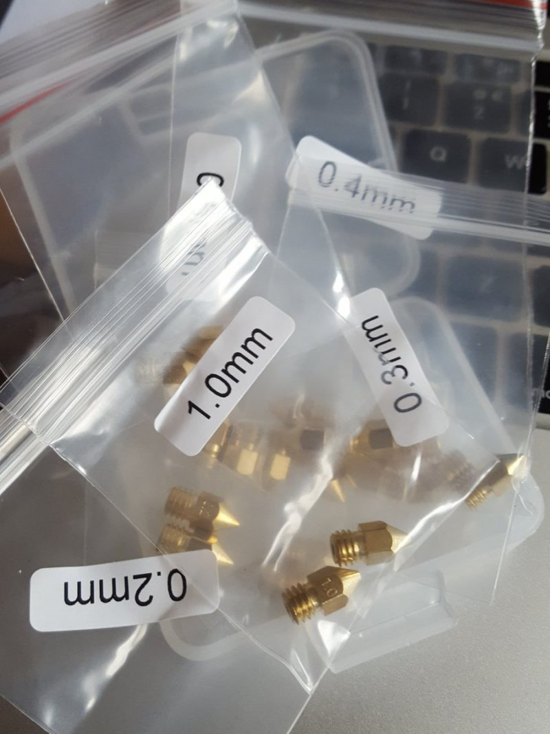 Got just a couple of spare nozzles or maybe 22 from Amazon  ...