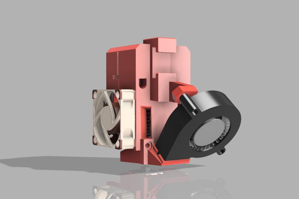 Da Vinci Jr E3D V6 Extruder