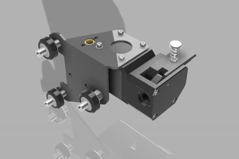 Creality Ender 3 Bondtech BMG Mounting Bracket
