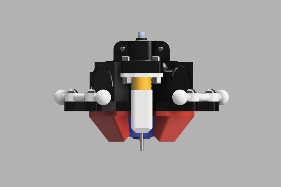 Rostock Pro BlTouch Effector Upd V F