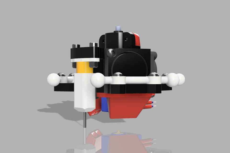 Rostock Pro BlTouch Effector Upd V FR