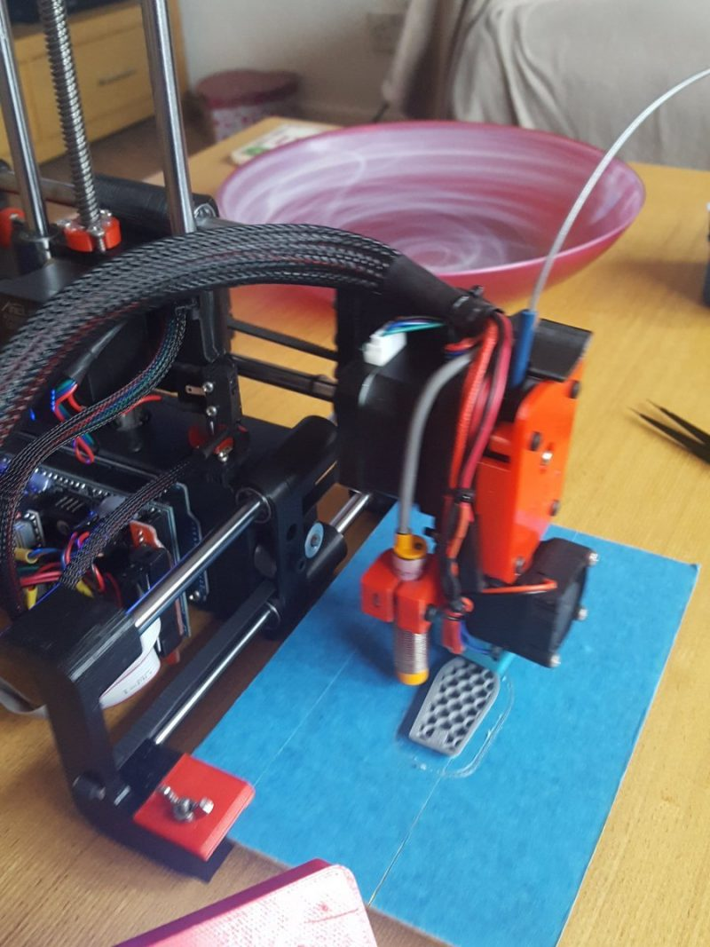 Ah little #3dbenchy in progress on the #adoptabot  ...