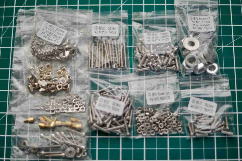 #14 the fasteners – Mostly from #AnetA8 others from my ahem stores ( or more com...