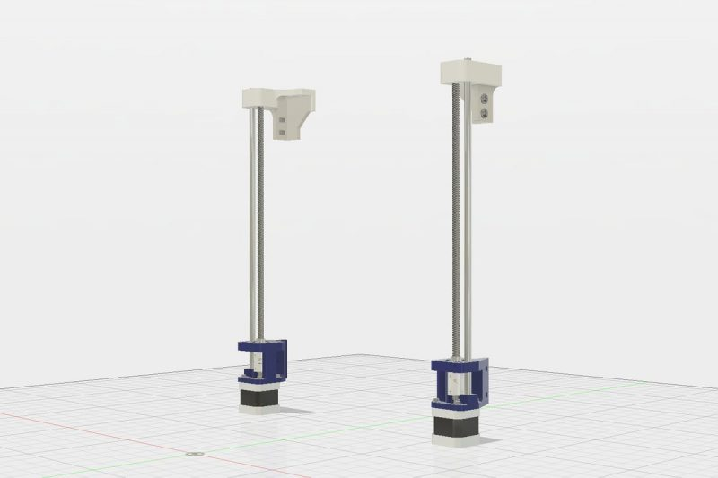 #19 the build Z axis - hmmm so just re-designed it so only the #fusion360 pic as...