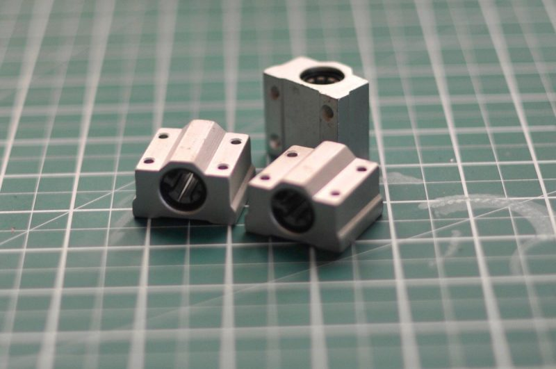 Better use for SC8UU Bearing blocks press fit @igus_Inc RJ4JP bushes in place of...