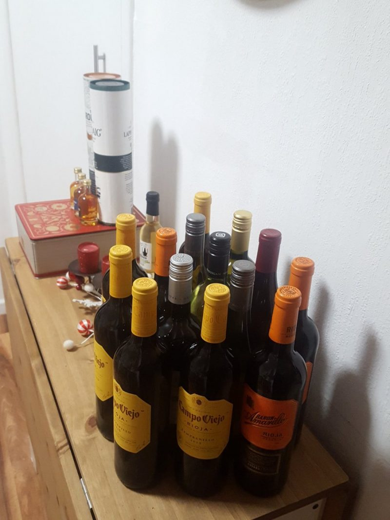 So my family may believe I am only interested in red wine and whisky? But seriou...